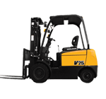 4 wheel used forklift for sale
