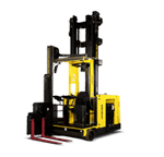 Very narrow forklift for sale from National Forklift Exchange