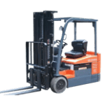3 wheel used forklift