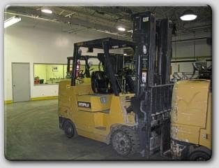 Caterpillar GC45KSWB Propane Forklift 2005