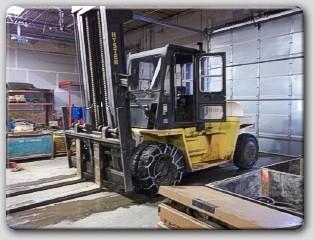 Hyster H250XL Pneumatic Diesel Forklift 1999