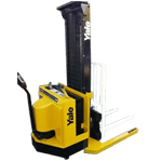 Used Walkie Straddle Stacker Forklift