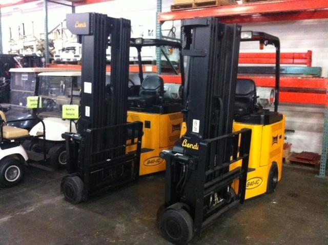 Bendi B40/48IC Very Narrow Aisle Forklift 2005 Quad Mast
