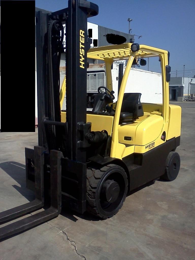 Hyster S155FT Diesel Forklift 2008 @ 7.5 Ton