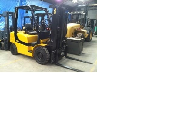 Yale GLP050VX Pneumatic Tire Propane Forklift 2008