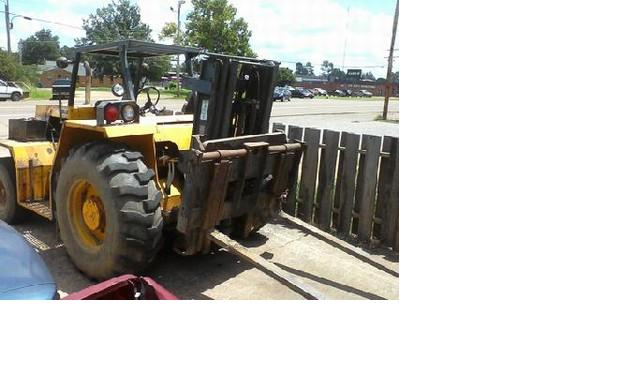 Sellick SD60 6000lb Rough Terrain Forklift 1990 Triple Cheap