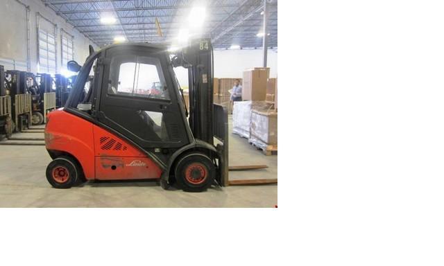 Linde H35D 8000lb @ 4 Ton Diesel Forklift 2009 in Florida