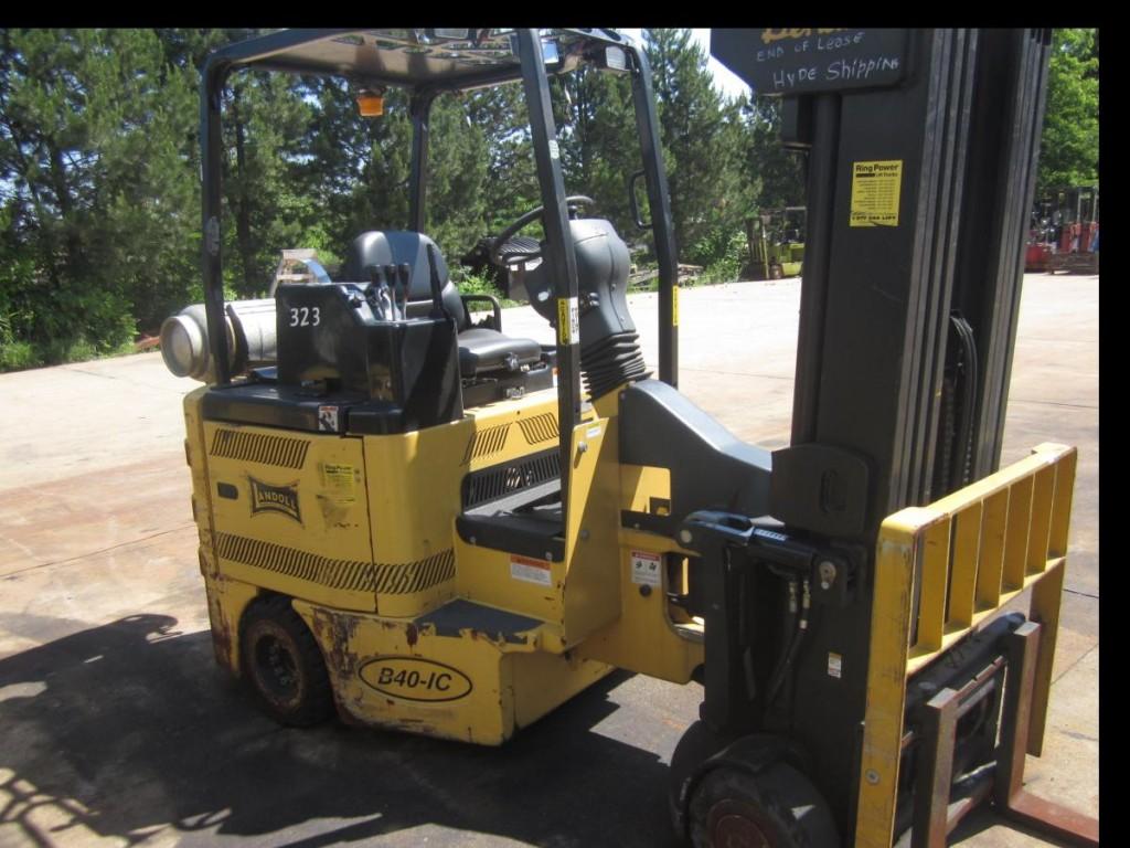 Bendi B40/48IC Very Narrow Aisle Articulating Forklift 2007 LPG