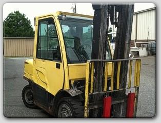 Hyster H90FT Diesel Forklift 2008 9000lb Low Hours