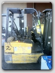 Hyster J35XMT 3-Wheel Forklift Year 2000 3500lb Cushion Tires