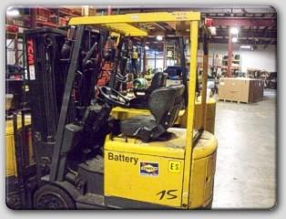 TCM FCB15A4 3000LB 4 Wheel Electric Forklift 2006