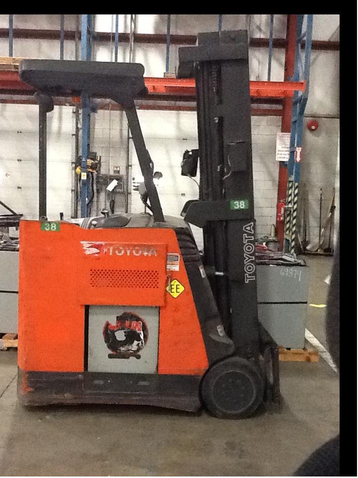 Toyota 7BNCU15 Counter Balance Forklift 2006 EE Rated