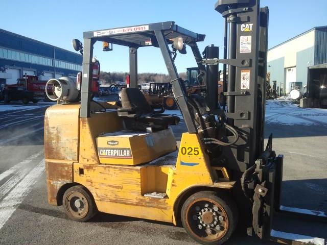 Caterpillar GC45K @ 5 Ton, 10,000lb Propane Forklift 2005