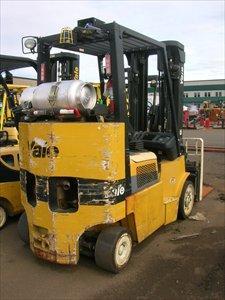 Yale GLC080 Propane Cushion Tire 8000lb @ 4 Ton Forklift 2006 Box Car Counterweight
