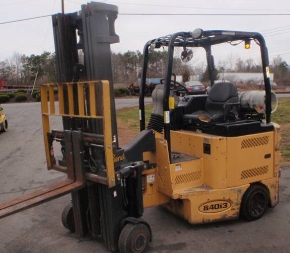 Bendi B40-48IC Very Narrow Aisle Propane 4000lb Forklift 2009