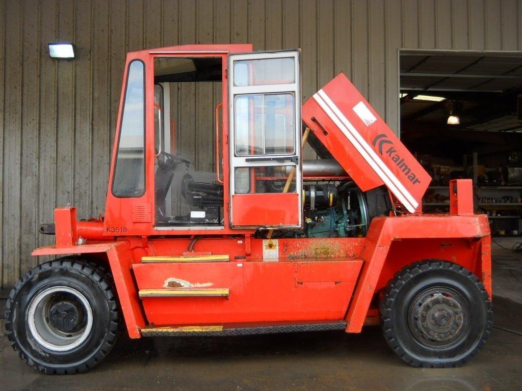 Kalmar DC12-1200 26,000lb @ 12.5 Ton Diesel Forklift 1997
