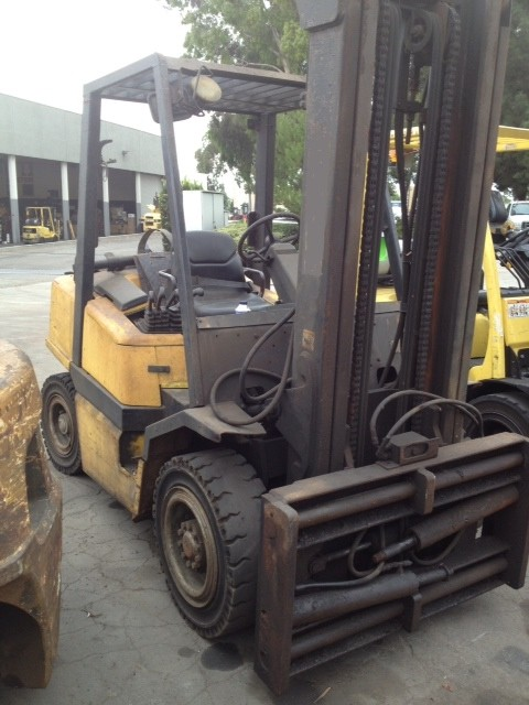 Yale GLP080 Propane Pneumatic Tire 8000lb Forklift 2006