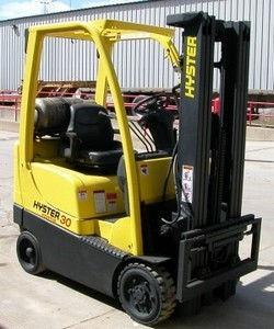 Hyster S30FTS 3000lb Cushion Tire Propane Forklift 2009