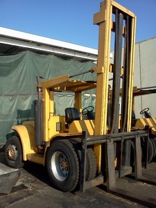 Hyster H200H Diesel Pneumatic 10Ton Forklift 1988