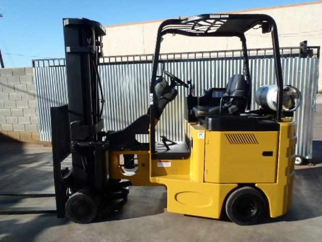 Bendi B40148-1C Side Loading Very Narrow Aisle LPG Forklift 2006