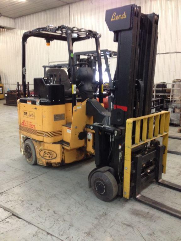 Bendi B45/48E180D Side Loading Very Narrow Aisle 4500lb Electric Forklift 2007
