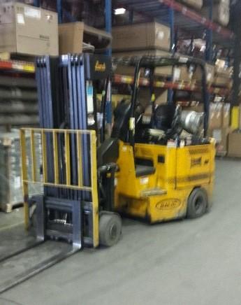 Bendi B40-48-IC-180B Side Loading Articulating 4000lb Very Narrow Aisle Forklift 2006