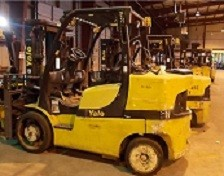 Yale GLC155 Propane 7.5 Ton Cushion Tire Forklift 2007