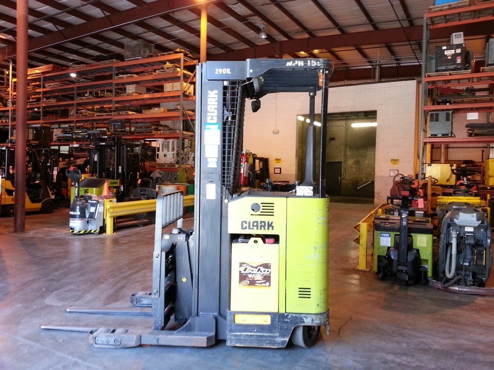 Clark NPR15D Electric Double Reach 3000lb Forklift 2008