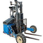 Truck Mounted Piggy Back Forklift