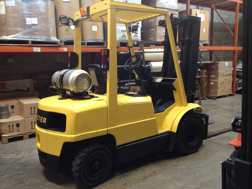 Hyster Forklifts H50XM 5000lb Pneumatic Tire Propane Forklift 2001