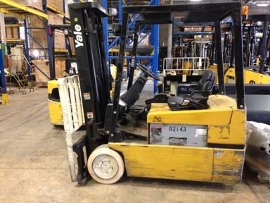 Yale Forklifts ERP040TFN36SE082 4000lb 3-Wheel Forklift 1999