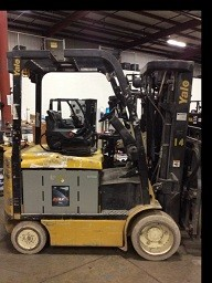 Yale Forklifts ERC060 Electric 4 Wheel Sit Down Rider 6000lb Forklift 2011