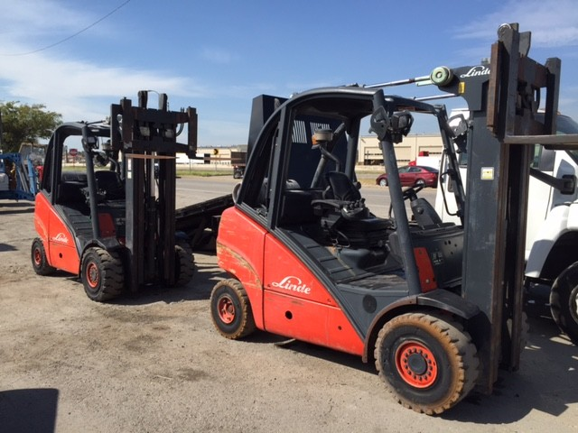 Linde Forkifts H30T 3 Ton 6000lb Pneumatic Tire Propane Forklifts 2005