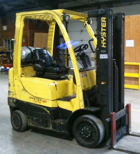 Hyster s50ft Owners manual
