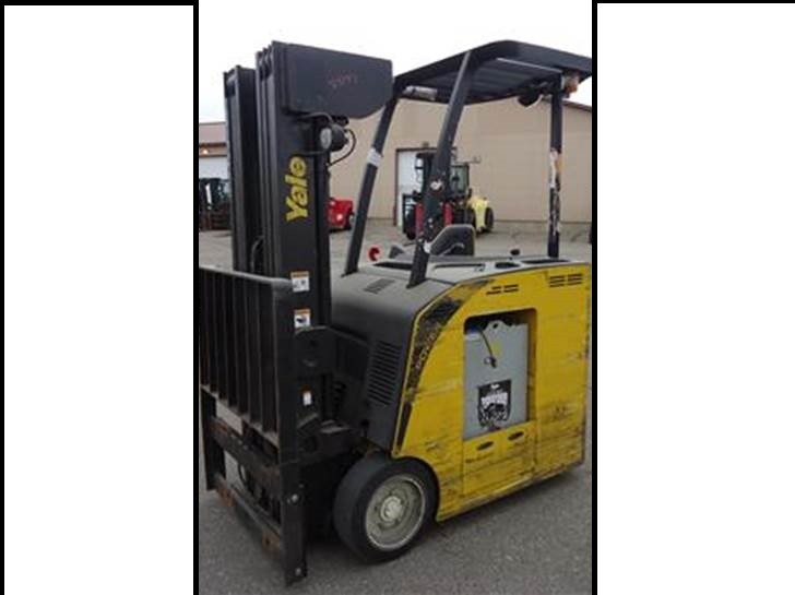 Yale Forklifts ESC035ACN36TQ084 Counter Balance Stand Up Rider 3500lb Forklift 2012