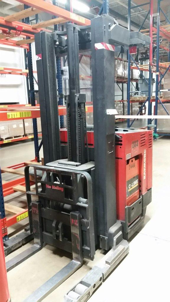 Raymond Forklifts EasiDR30TT Electric Stand Up Rider 3000lb Double Reach Forklift 1995