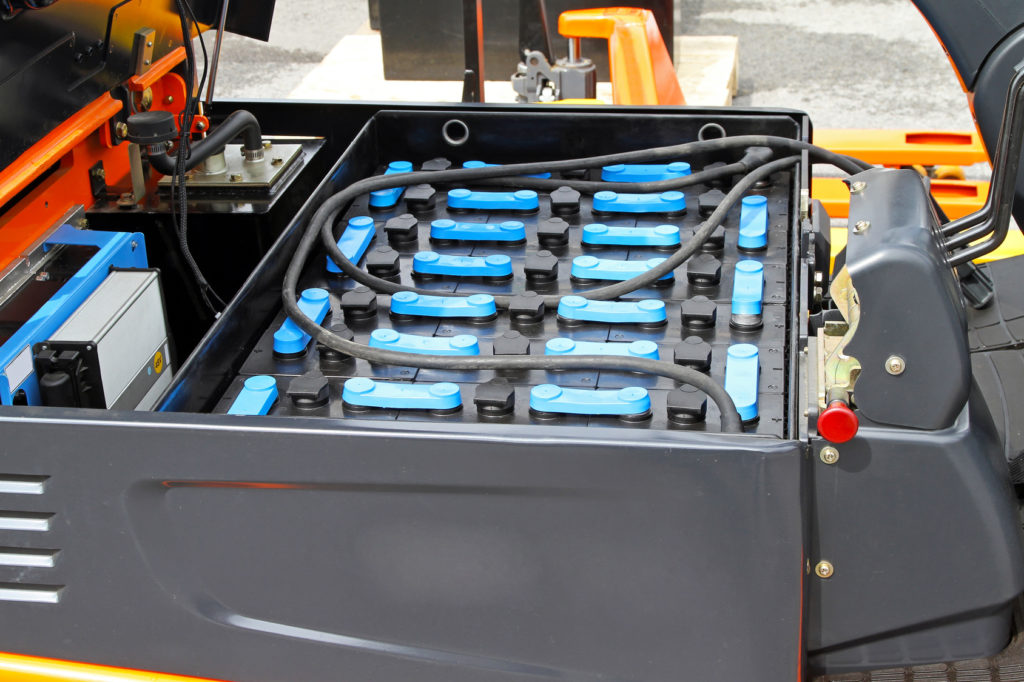 How to Properly Care for Your Forklift's Battery
