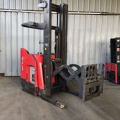 Raymond Forklifts 760-DR32TT Electric Stand Up Rider 3200lb Double Reach Forklift 2011