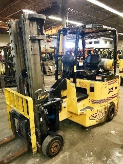 Bendi Forklifts B40IC Articulating Very Narrow Aisle 4000lb Side Loading Forklift 2007