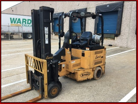 Bendi Forklifts B40/48IC-180D Very Narrow Aisle Articulating 4000lb LPG Side Loading Forklift 2010