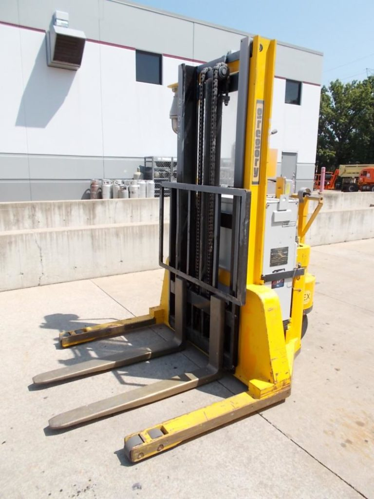 Gregory WS3EX Explosion Proof Electric Walk Behind 3000lb Straddle Stacker Truck 2007