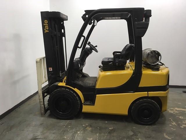 Yale Forklifts GP060VX Pneumatic Tire 6000lb Propane Forklift 2014