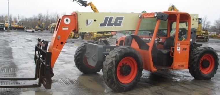 JLG G9-43A 9000lb Telehandler Telescopic Forklift 2008