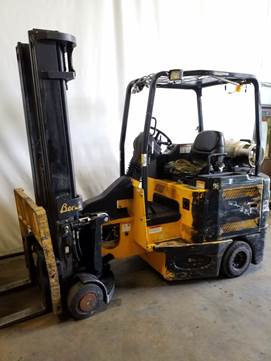 Bendi Forklifts B40IC Side Loading 4000lb Articulating Very Narrow Aisle Forklift 2006