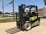 Clark Forklifts C30L Propane Fuel Pneumatic Tire 6000lb Forklift 2015