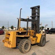 Liftall M80 Rough Terrain 8000lb Diesel Fuel Forklift 1984