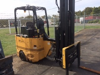 Bendi Forklifts B3/30E-180D Very Narrow Aisle Articulating 3000lb Side Loading Forklift 2008