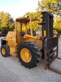 Master Craft MC.06.11126 Rough Terrain Tire 6000lb Diesel Fuel Forklift 2012