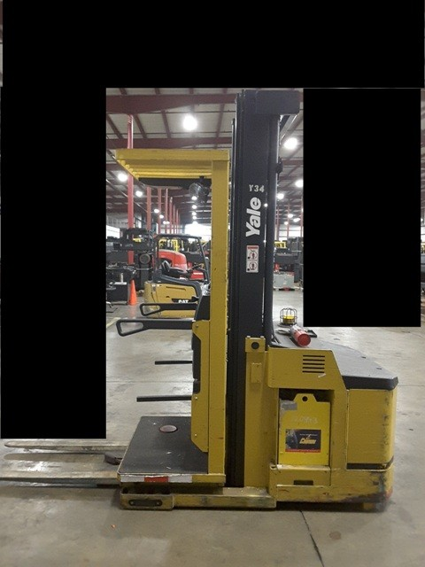 Yale Forklifts OS030 Electric 3000lb Stand Up Rider Order Picker Forklift 2007