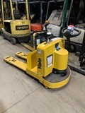 Yale MPW080LEN24T2748 electric walkie rider 8000lb EE rated pallet jacks.